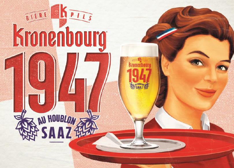 Kronenbourg 1947 banniere