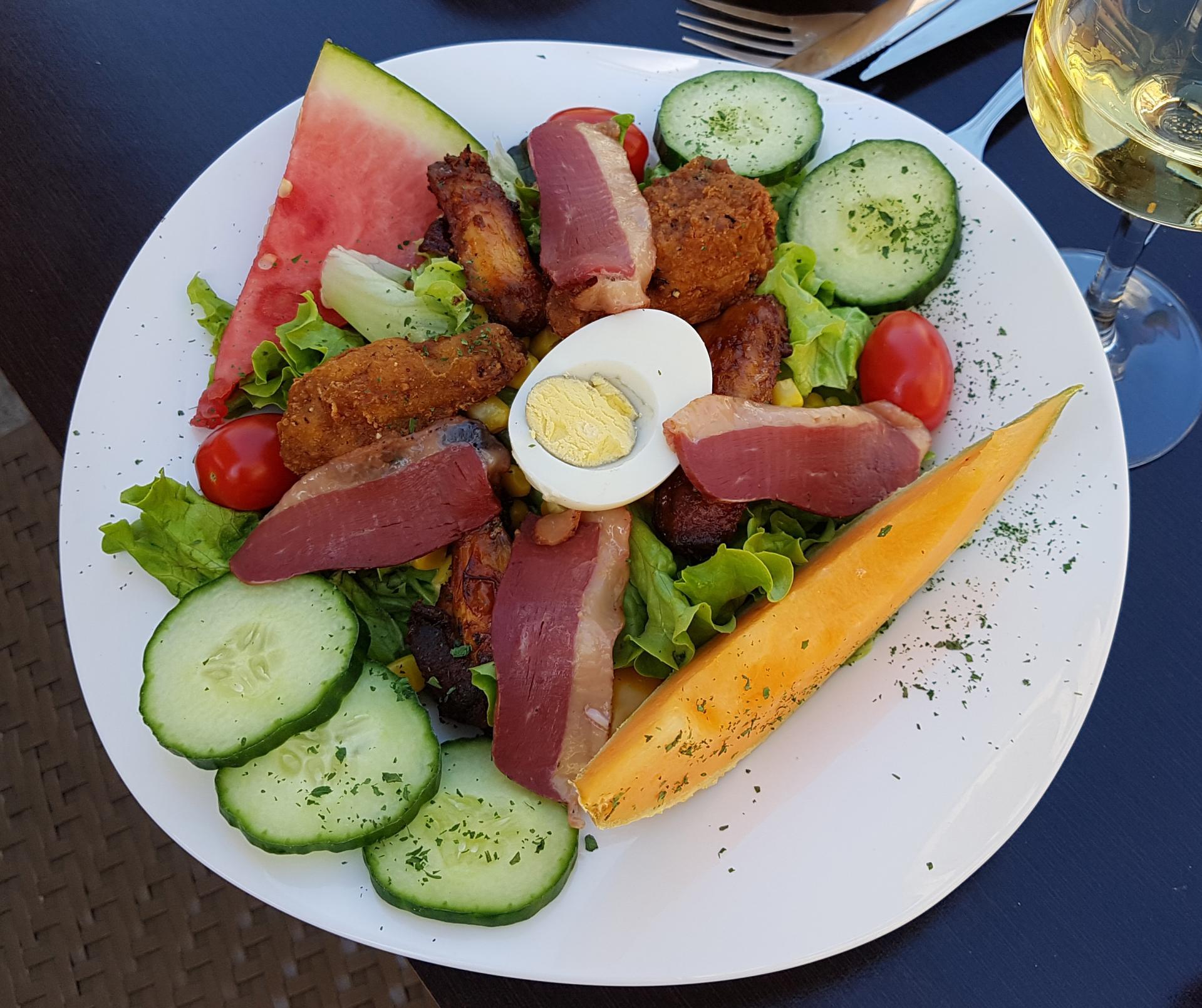 Salade du jour la chicken salade