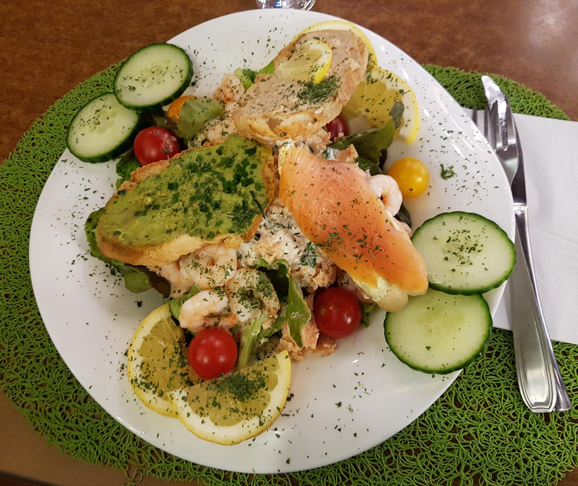 Salade du jour oceane