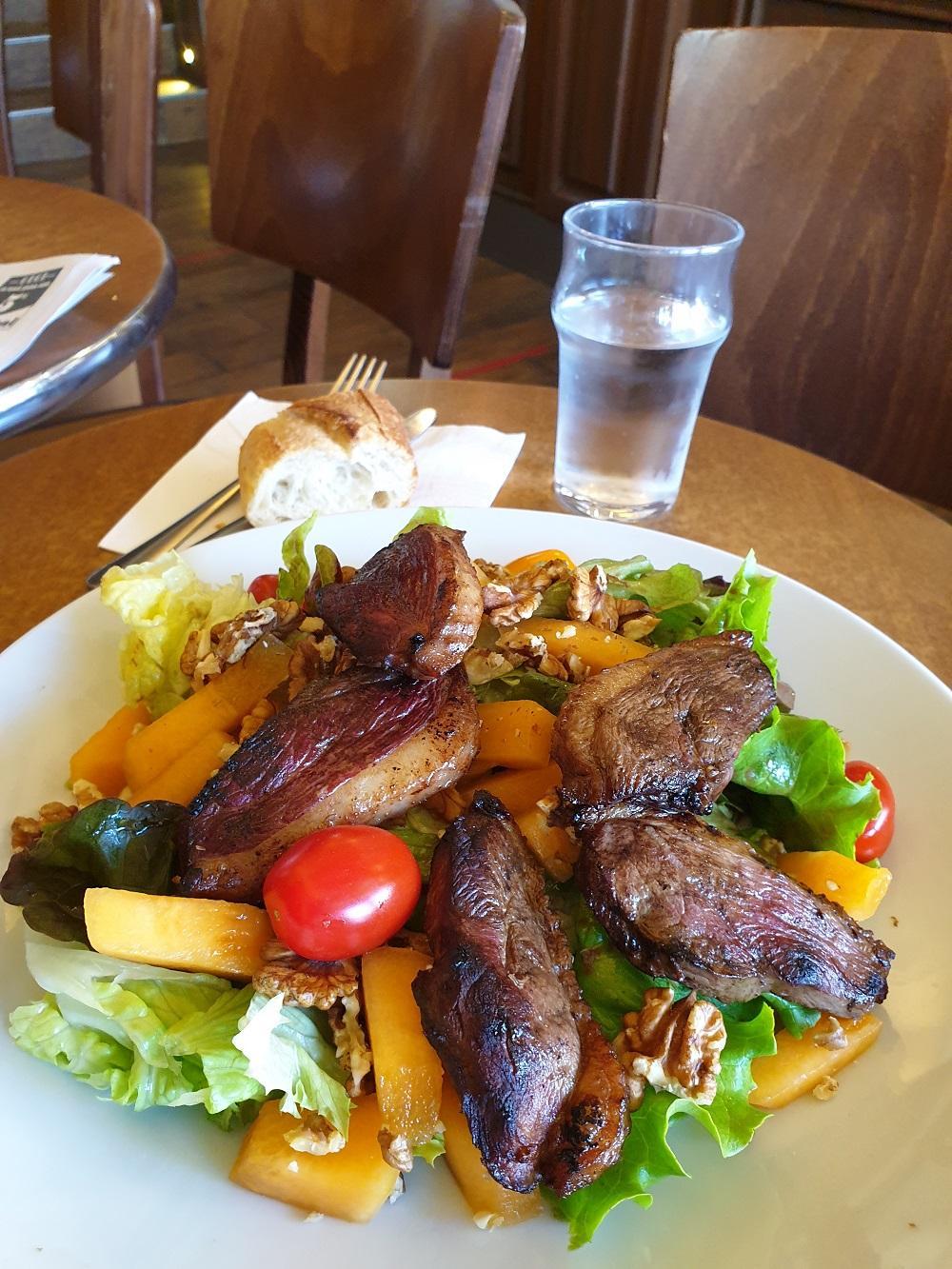 Salade magret de canard