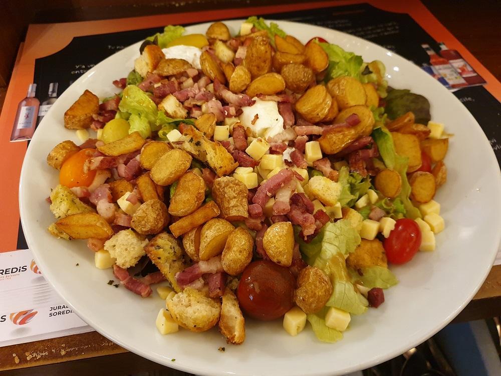 Salade paysane